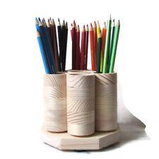 DESKTOP Rotating Colored Pencil Holder Desk Organizer, Holds 100 Pencils