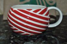 New Starbucks RED MUG Peppermint 12 oz  3 D ARTWORK 2013