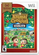 NUOVO Animal Crossing: Città Folk (Nintendo Wii, 2008) Selects COVER