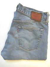 Levi's 501 Jeans de Hombre Original Pierna recta W36 L30 Azul Claro levq 982