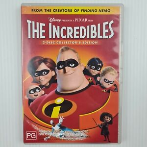 The Incredibles DVD - 2 Disc Collector's Edition - Region 4 - TRACKED POST