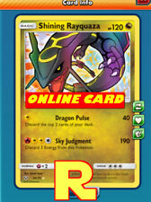 Shining Rayquaza - for Pokemon TCG Online (DIGITAL ptcgo in Game Card)