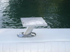 "Boat Fishing Bait Table Rod Holder mount - 60 degree - 1/1/2"" Dia - Aluminum"