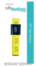"""NIFTY NOTION #7425Z    120INCH X ¾"""" WIDE TAPE MEASURE"""