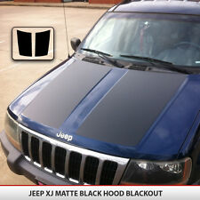 Blackout Hood Decal Matte Black w/ install kit Fit: Jeep Grand Cherokee 99-04 WJ