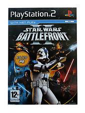 Star Wars: Battlefront II (Sony PlayStation 2, 2005) - European Version