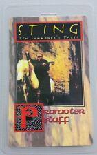 1994 STING LAMINATED BACKSTAGE PASS PROMOTER / TOUR STAFF