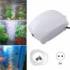 Silencieux Aquarium Pompe à Air Fish Tank Oxygène Diffuseur Pierre à Bulles FR