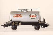 Märklin H0 4524 Swedish Esso Tank Wagon Mycket Eldfarligt (43523)