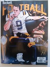 *Current Issue* Joe Burrow Bengals Cover August Beckett Football Price Guide