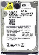 "WESTERN Digital wd3200budt 320 GB 2.5 ""Sata Laptop Hard Disc Drive HDD Garanzia"