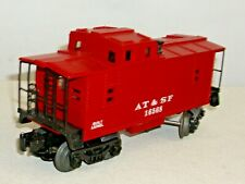LIONEL AT&SF CABOOSE #16568 IN RED VERY NICE EXAMPLE