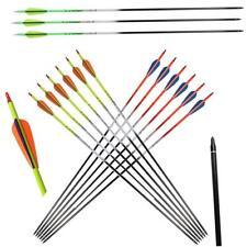 32 '' Multi-bunte Carbonpfeile Fluoreszierend für die Jagd Verbindung Recurvebog