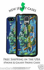 Disney Neverland Map Peter Pan For Apple, Samsung, LG, Google Phone Pixel Case