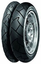 Motorcycle Tyres CONTI TRAIL ATTACK-2 110/80/V19 & 150/70/V17 CAPONORD Motorbike