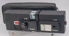 Rollei A26 126 Film Camera w/ Rollei Zeiss Sonnar 40mm F3.5 Lens
