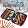 13 Sizes/Set Interchangeable Aluminum Circular Knitting Needle Sets  new UK UK