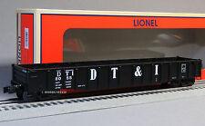 LIONEL DETROIT TOLEDO & IRONTON SCALE PS-5 GONDOLA 82667 o train 6-82668 NEW