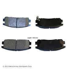 BECK/ARNLEY 082-1473 Premium Organic Disc Brake Pads Rear FREE SHIPPING!