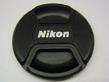 77mm Front Lens Cap Center Pinch Snap on for Nikon Camera Plastic OEM