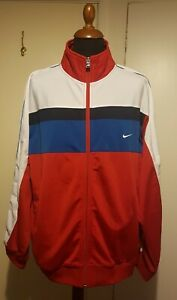 NIKE MENS VINTAGE SWEATSHIRT ZIP UP TOP SIZE XXL 2XL