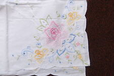Embroidered Unbranded Rectangular Tablecloths