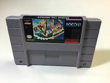Dennis the Menace Snes Super Nintendo Cleaned Tested working NICE