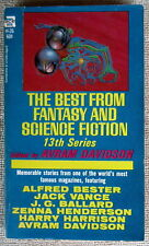 BEST FROM FANTASY SCIENCE FICTION 13th PB Now Wakes the Sea by J.G. Ballard