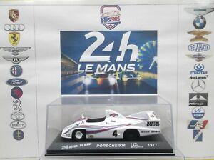 1/43 Winner 24 heures du Mans 1977 Porsche 936/77 #4 Ickx-Barth-Haywood Altaya