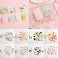 40Pcs DIY Calendar Scrapbook Album Diary Book Paper Label Stickers Decor
