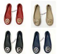 Women MK Michael Kors Lindsay Slip On Flats/ Moc Leather
