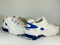 Men's Puma Cell Alien OG Sneakers White Strong Blue Trainers Size 8 UK