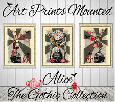 ART PRINT DICTIONARY BOOK PAGE gothic collection alice in wonderland wall decor