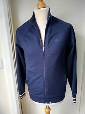 PRETTY GREEN Track Jacket Liam Gallagher Mans Mens Size S Navy Blue Cooool!