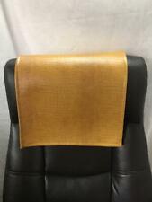 14 by 30 inch Caramel Alligator Recliner Head Rest Cover Vinyl Sofa Love seat