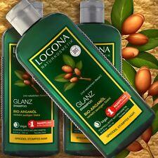 Logona Glanz-Shampoo Bio-Arganöl 250ml Naturkosmetik zertifiz. vegan silikonfrei