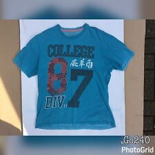 Cherokee Apparel Blue T-Shirt Mens Medium M