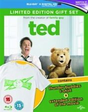 Ted Limited Edition Gift Set With T-shirt Blu-ray Region B 2012