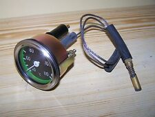 Unimog 411 Water Temperature Gauge 60mm with Capillary Tube - NEW
