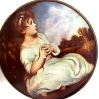 Vintage 1950s Thornes English Toffee Tin Age of Innocence by Sir Joshua Reynolds