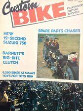 Custom Bike Magazine 12 Second Suzuki 750 April 1977 122817nonrh