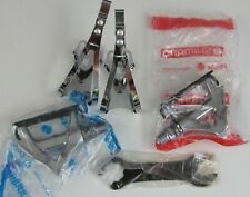 Shimano Dura Ace PD-7400 Pedals / Large toe Clips NOS!