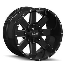 """17"""" x9 Ion Alloy Style 141M Black 6x135/6x5.5 -12 ET 141-7937M 1 Rim"""