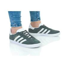 ADIDAS GAZELLE J WOMENS GIRLS TRAINERS IVY GREY WHITE SIZE UK 4 4.5 5 5.5 RRP£50