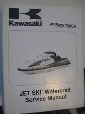 1992-95 Kawasaki Jet Ski 750SX : Factory Service/ Repair Manual
