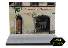 Diorama présentoir Garage du Square - 3 inch   1/64ème - #3in-2-K-K-004