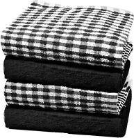 Towelogy® Kitchen Tea Towel Cotton Terry Wonderdry Dish Drying Cloths 65cmx35cm