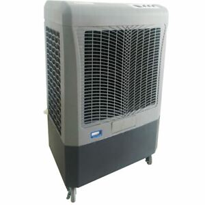 Hessaire MC37M 3,100 CFM 3-Speed Portable Evaporative Cooler - 950 Sq. Ft. - 10.