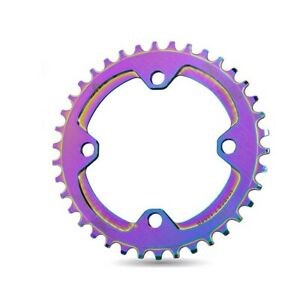 104BCD Round Oval Narrow Wide Chainring MTB Bike 104BCD Crank 32T/34T/36T/38T