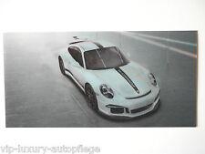 Porsche 911 Aufkleber 3D Karte  911 / 50 Jahre Porsche Martini Racing